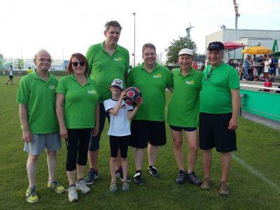 Die Mannschaft der Grünen OV Neureut / Foto: K. Heidke