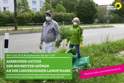 Neureuter Grünen in Aktion