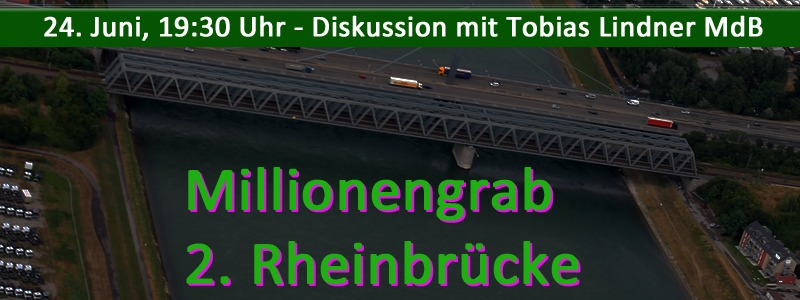 "Millionengrab ""2. Rheinbrücke"""