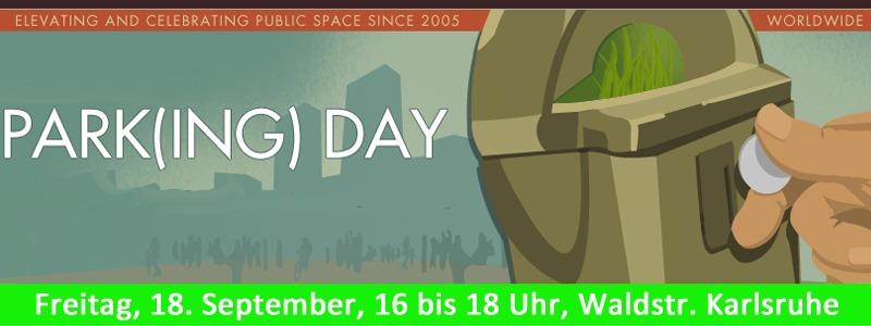 Park(ing)Day in Karlsruhe