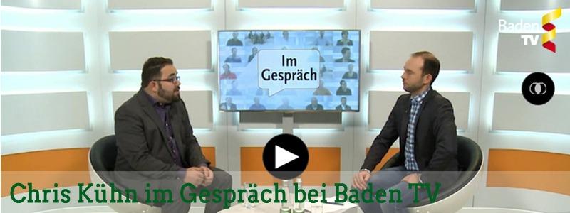Bezahlbarer Wohnraum für alle: Chris Kühn im Gespräch mit Baden TV
