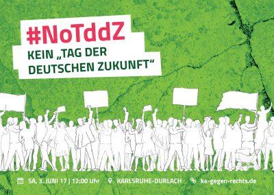 """Gegenprotest """"Tag der deutschen Zukunft"""" #noTDDZ @ Jüdisches Mahnmal"""