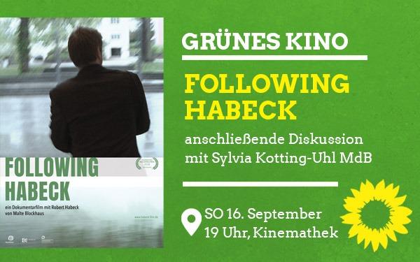 GRÜNES Kino: Following Habeck