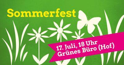 Sommerfest @ Grünes Büro