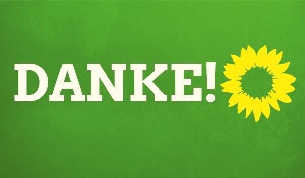 DANKE für eure Unterstützung, eure Stimme und den Einsatz