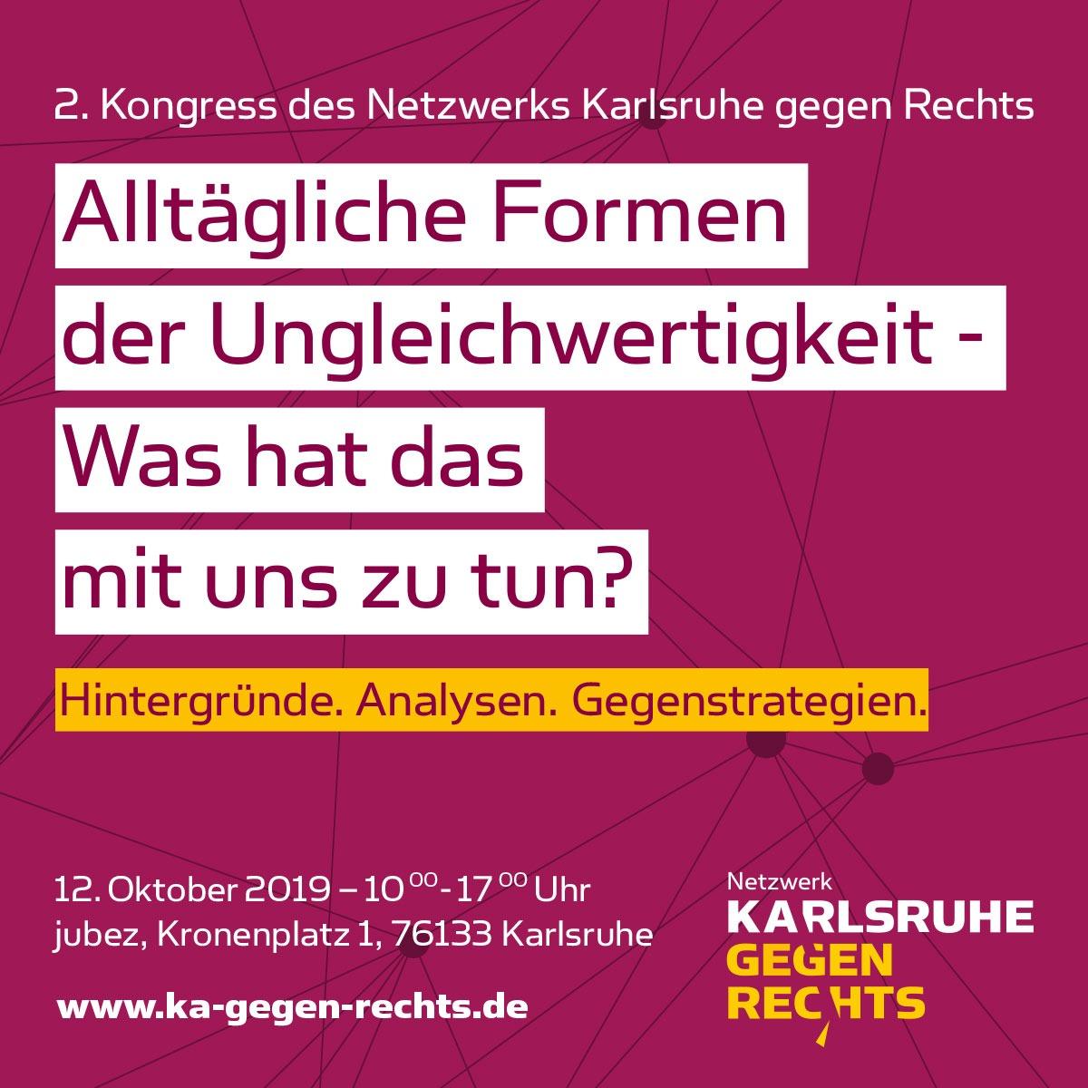 Save-the-Date: 2. Kongress des Netzwerks gegen Rechts