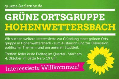 Ortsgruppe Hohenwettersbach - Treffen für Interessierte @ Gatto Nero