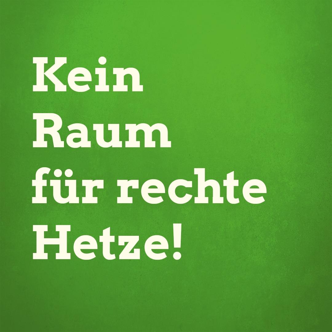 Kein Raum für rechte Hetze! Am 12. Januar gemeinsam gegen den AfD Neujahresempfang!