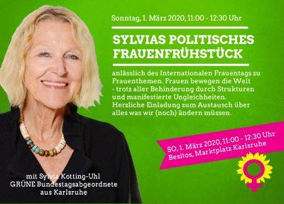 Sylvias politisches Frauenfrühstück @ Besitos