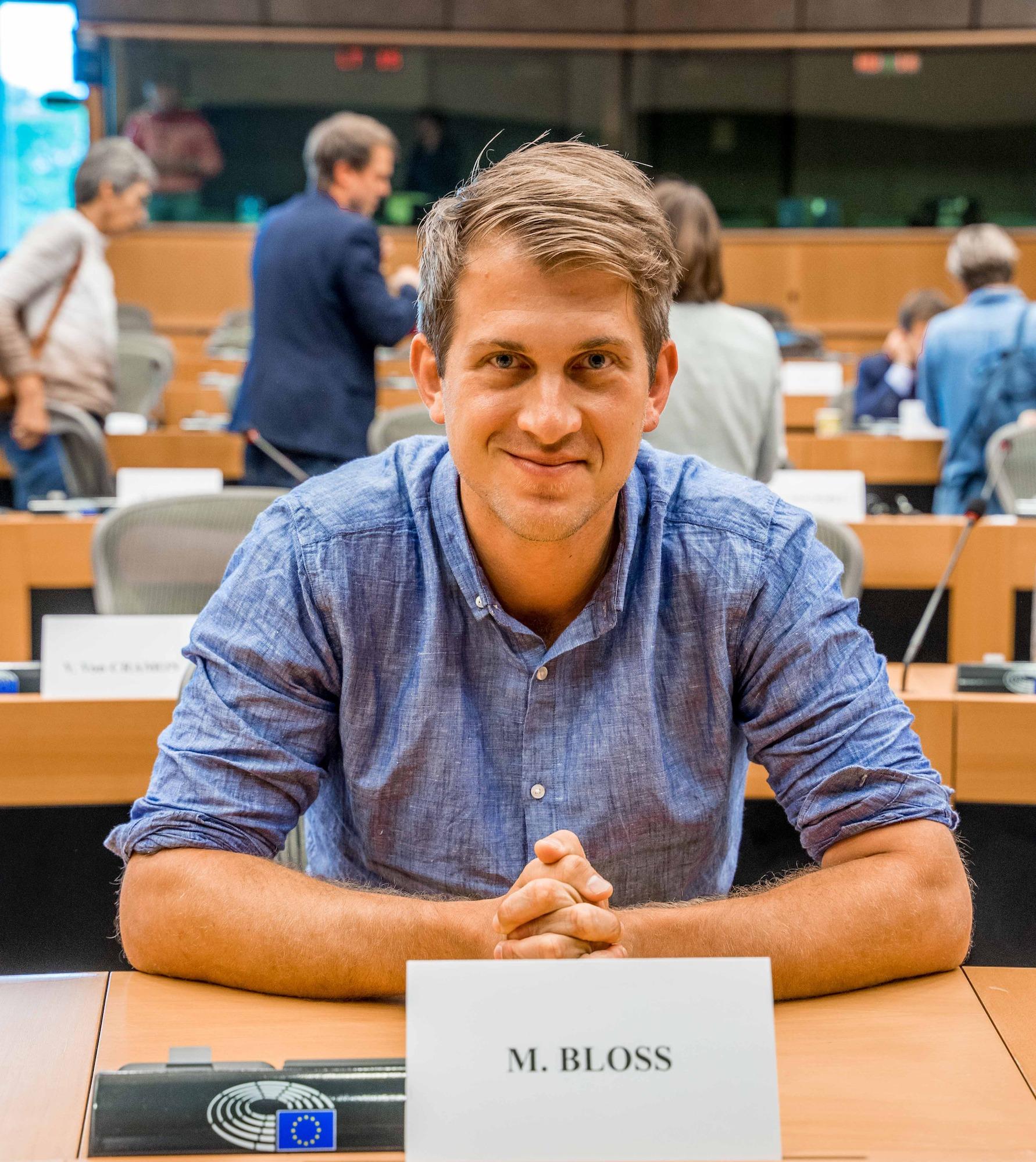 Europa-Politik im Netz – interaktiv mit Micha Bloss MdEP