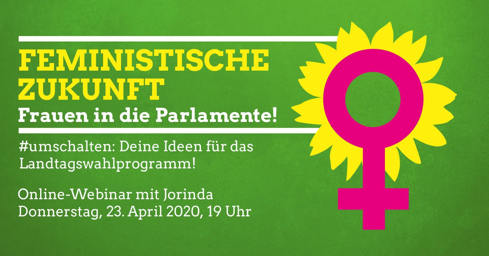 Feministische Zukunft: Frauen in die Parlamente