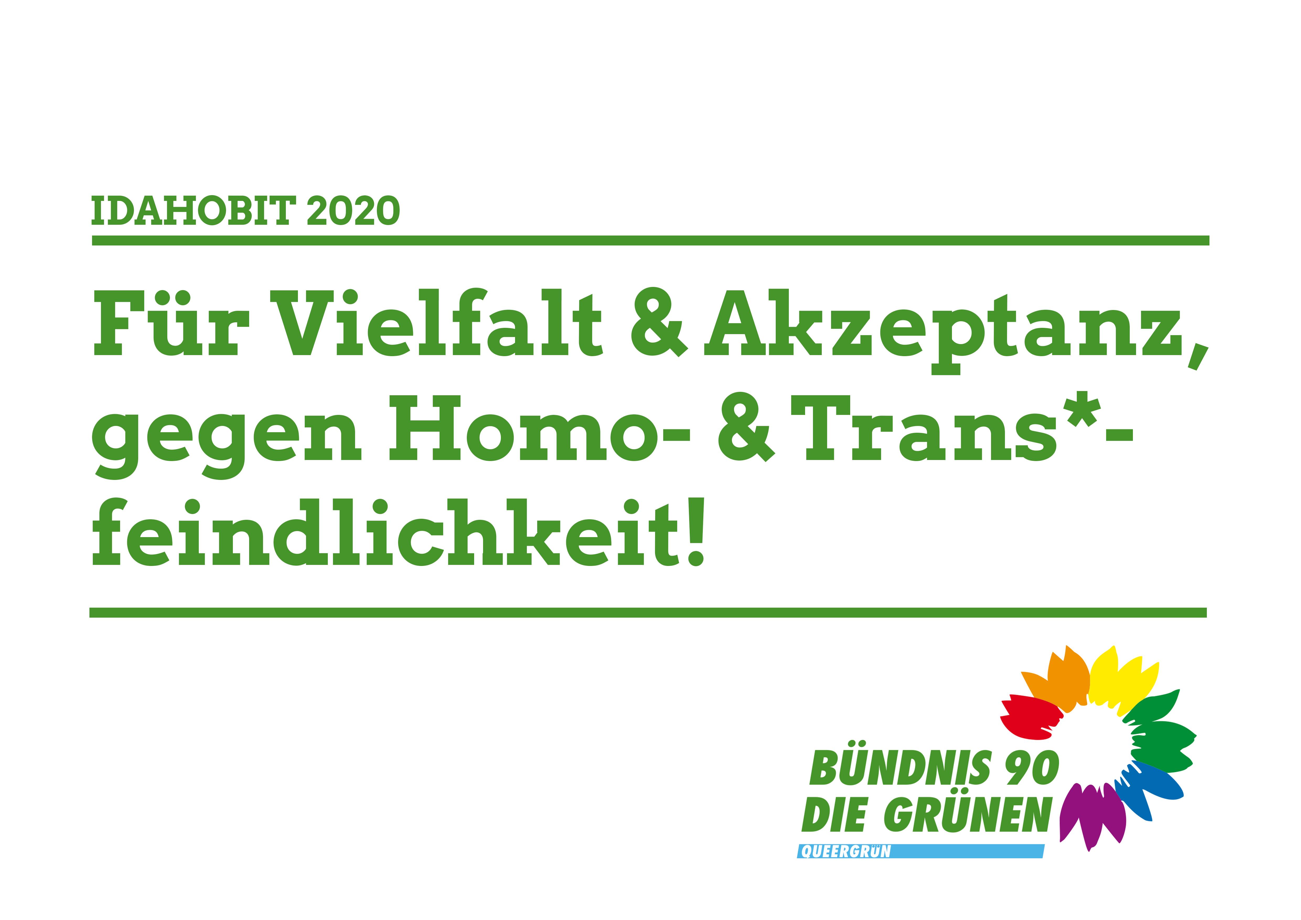 17. Mai: International Day Against Homophobia and Transphobia