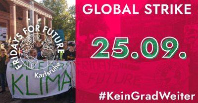Glober Klimastreik @ Schlossgarten Karlsruhe
