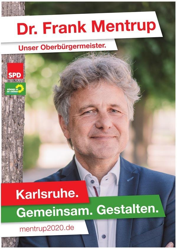 Wahlplakat Frank Mentrup