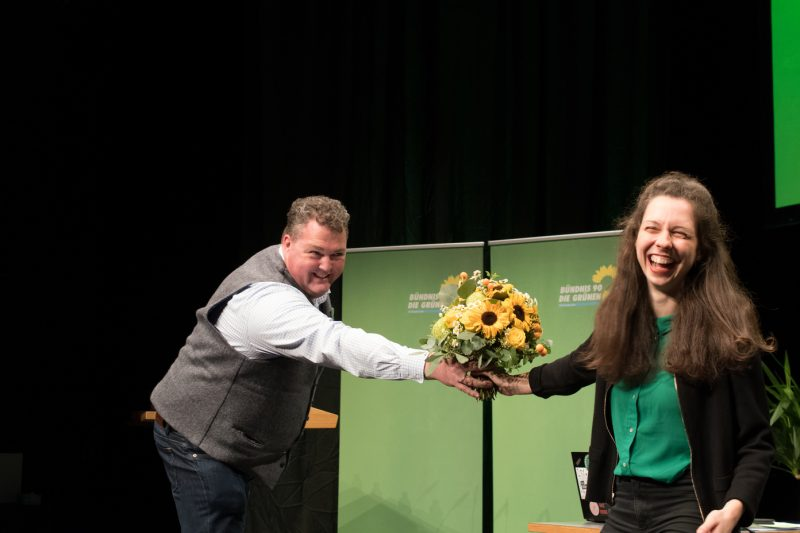 Zoe Mayer gewählt mit Thorsten Frewer