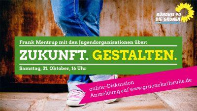 Frank Mentrup mit den Jugendorganisationen über: Zukunft gestalten