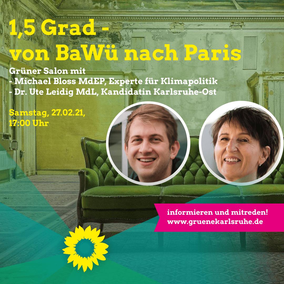 1,5 Grad – von Baden-Württemberg nach Paris