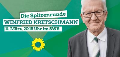 Elefantenrunde zur Landtagswahl im SWR