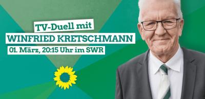 TV-Duell mit Winfried Kretschmann