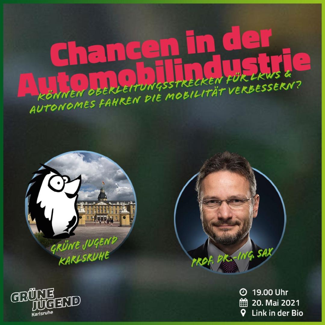 Chancen in der Automobilindustrie – Veranstaltung unserer GRÜNEN JUGEND