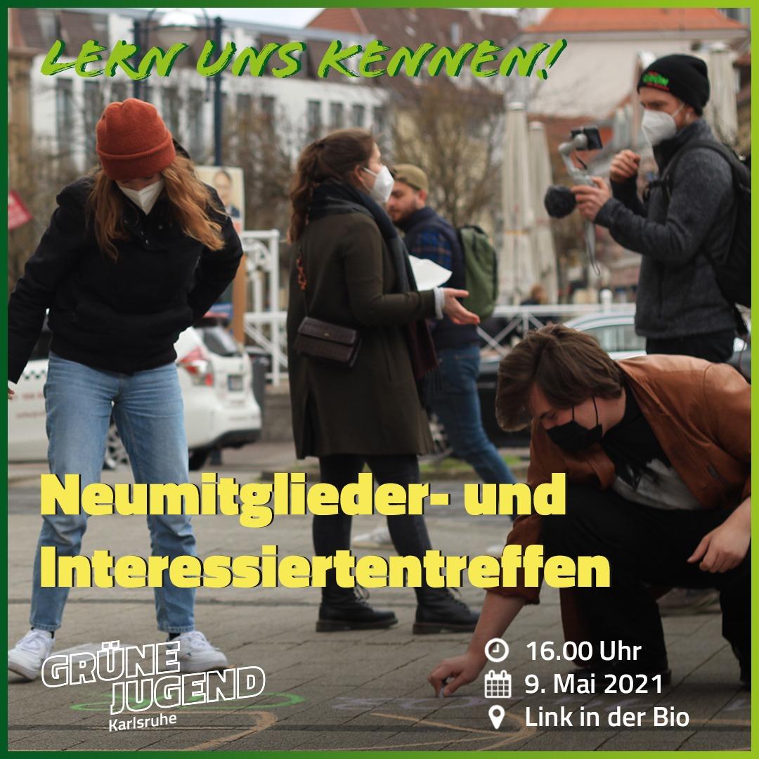 GRÜNE JUGEND lädt zum Neumitglieder- und Interessiertentreffen