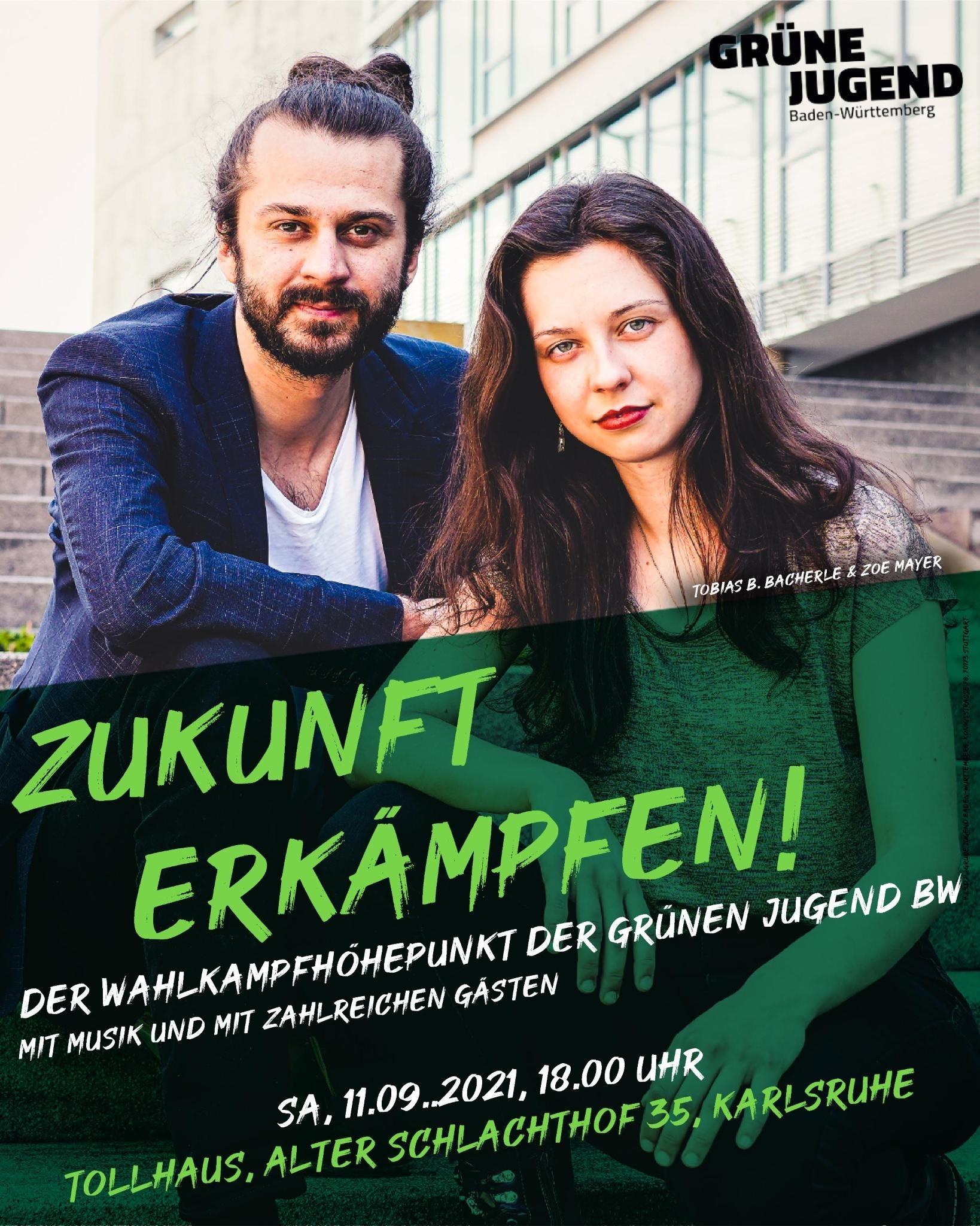 Wahlkampfhöhepunkt der Grünen Jugend BW